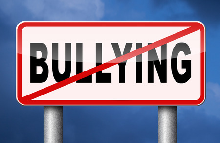 41887568 - stop bullying no bullies prevention against school work or in the cyber internet harassment